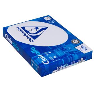 250 Blatt Kopierpapier Clairalfa 120 g/m² weiß DIN A4