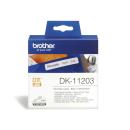 Ordnerregister Etiketten brother DK-11203 schmal