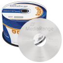 MediaRange DVD+R 16x, 4,7GB Cake50 - MR445