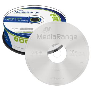 MediaRange DVD-R 4,7GB Cake25 Rohlinge - MR403