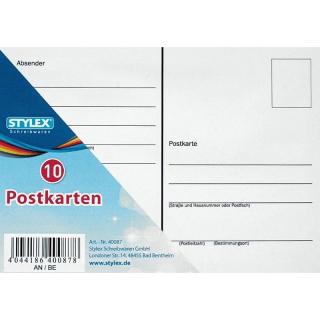 Postkartenheft mit 10 Karten - 40087 ***