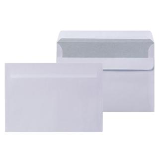 1000 Briefumschläge DIN C6 weiss ohne Fenster