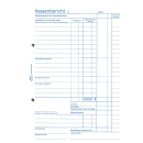 Zweckform 305 Kassenbericht A5, 50 Blatt