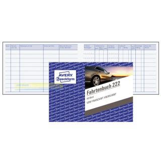 Zweckform 222 Fahrtenbuch DIN A6