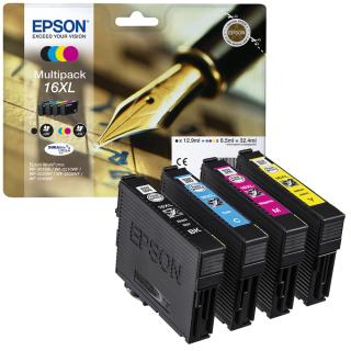 Original Druckerpatronen Epson T1636 XL Multipack