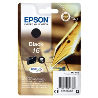 Original Druckerpatrone Epson T1621 schwarz