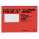 250 Dokumententaschen C5 Lieferschein/Rechnung