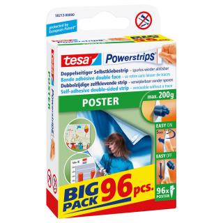 """tesa """"Poster"""" Powerstrips - 58213"""