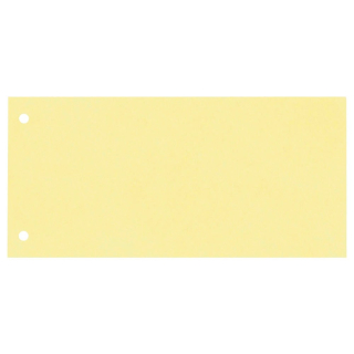 100 Trennstreifen, gelocht, gelb 190g/m²