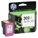 Original HP 302 XL Druckerpatrone Color - F6U67AE