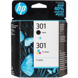 2 Original Druckerpatronen HP 301 im Kombipack - N9J72AE