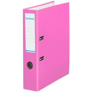 Ordner pink breit mit Einsteckschild Donau Klassik