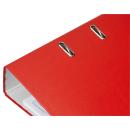 Ordner rot mit Einsteckschild für DIN A4 breit