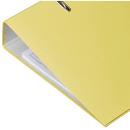 Ordner gelb breit mit Einsteckschild Donau Klassik