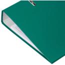 Ordner grün mit Einsteckschild breit DIN A4