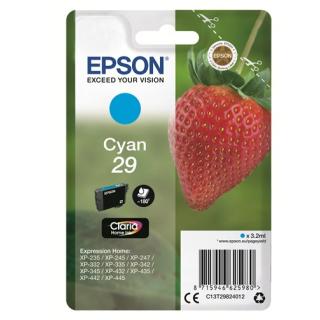 Original Druckerpatrone Epson T2982 Cyan