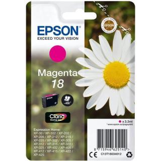 Original Druckerpatrone Epson T1803 Magenta