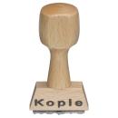 """Holz-Textstempel """"Kopie"""""""