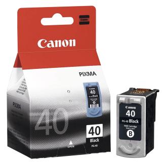 Original Druckerpatrone Canon PG-40 Schwarz - 0615B001