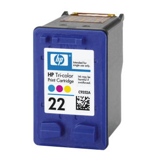 Original Druckerpatrone HP 22 Color - C9352AE