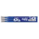 3 PILOT FRIXION Tintenrollerminen blau