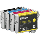 Original Druckerpatrone Epson T0715 Multipack