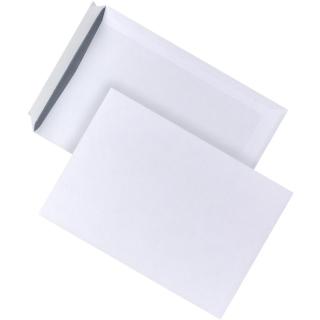250 Versandtaschen B4 Weiß selbstklebend