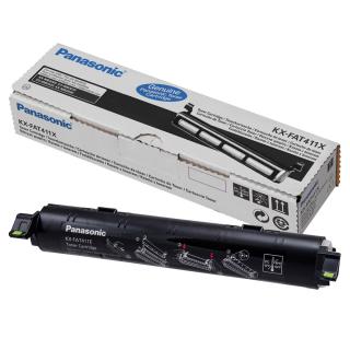 Original Toner Panasonic KX-FAT411X schwarz