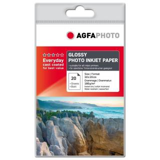 Agfa Fotopapier 10x15, 180g/m², 20 Blatt - AP18020A6