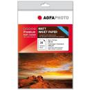 Agfa Fotopapier A4, 220g/m², 20 Blatt Matt