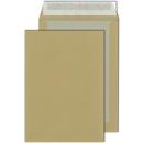 100 Papprückwand-Versandtaschen B4 braun