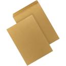 250 Versandtaschen DIN C4 braun selbstklebend