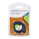 DYMO Beschriftungsband 91220 schwarz auf weiß 12 mm Paperwhite