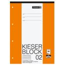 Kieser-Block A4 Lineatur 2 mit 50 Blatt liniert