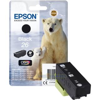 Original Druckerpatrone Epson T2601 schwarz