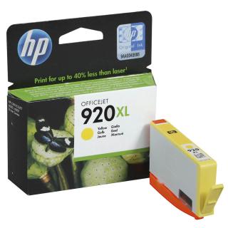Original Druckerpatrone HP 920 XL Gelb - CD974AE