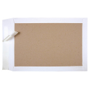 100 Papprückwand Versandtaschen B4 Weiß
