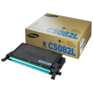 Original Toner SAMSUNG CLT-C5082L cyan