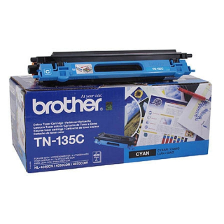 Original Toner brother TN-135 Cyan
