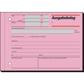 sigel Ausgabebeleg AG 615