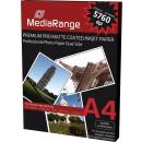 MediaRange mattes Fotopapier Duo DIN A4 50 Blatt 200g