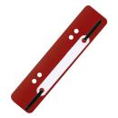 100 Heftstreifen PP rot - 2011000312