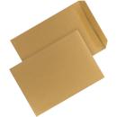250 Versandtaschen DIN C5 Braun selbstklebend