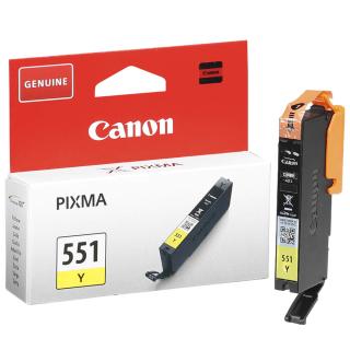 Original Druckerpatrone Canon CLI-551 Y Gelb - 6511B001