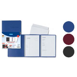 Bewerbungs-Set mit Umschlag, Vorlage und Mappe