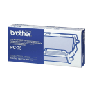 Original Thermo-Druckfolie brother PC-75 schwarz