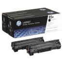Original Toner HP 2x 85A schwarz - CE285AD