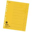 100 Trennblätter gelb 230g/m²