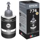 Original Tintenflasche Epson T7741 schwarz