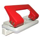 Locher 1,35mm Stanzleistung rot mit Anschlagschiene